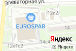 Схема проезда до компании Шиномонтажная мастерская на Элеваторной в Москве