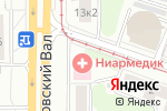 Схема проезда до компании Ла Пош в Москве
