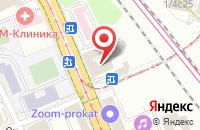 Схема проезда до компании Новая Евразия в Москве