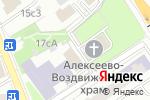 Схема проезда до компании Втд групп в Москве