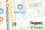 Схема проезда до компании Совет ветеранов войны и труда Южнопортового района в Москве