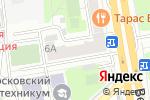 Схема проезда до компании U-doors.ru в Москве