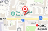 Схема проезда до компании Еврогруп Риэлт в Москве
