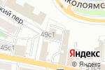 Схема проезда до компании GLOBALCONNECT в Москве