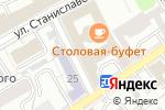Схема проезда до компании Российский союз товаропроизводителей в Москве
