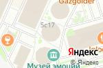 Схема проезда до компании Universal Music Russia в Москве