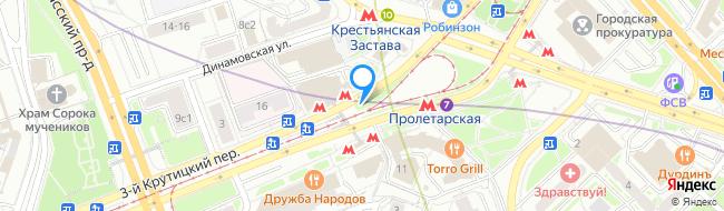метро Пролетарская
