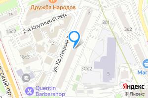 Однокомнатная квартира в Москве ул. Крутицкий Вал, 3