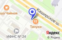 Схема проезда до компании МЕБЕЛЬНАЯ ФАБРИКА ОДЭКС в Москве