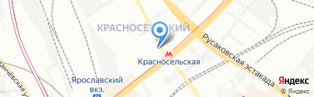 Светобейсик на карте Москвы
