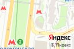 Схема проезда до компании Бакинский бульвар в Москве