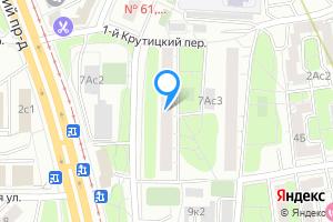 Двухкомнатная квартира в Москве ул. Симоновский Вал, 7к1