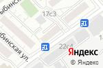Схема проезда до компании НИСС-СТРОЙ в Москве