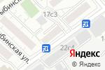 Схема проезда до компании Грим сервис в Москве