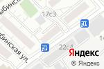 Схема проезда до компании 3D prazdnik в Москве