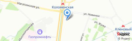 Школа семи гномов на карте Москвы