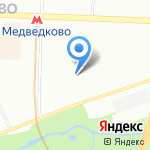 Общественный пункт охраны порядка Северо-Восточного административного округа на карте Москвы