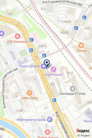 ПРОМЫШЛЕННАЯ КОМПАНИЯ ИСКАР СНГ на карте Москвы