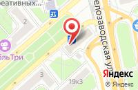 Схема проезда до компании Управление по строительству, ремонту и эксплуатации  в Москве
