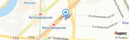 СРС Потолки на карте Москвы