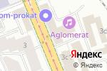 Схема проезда до компании Оконные конструкции в Москве