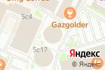 Схема проезда до компании Старфокс в Москве