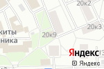 Схема проезда до компании РЭК-3 в Москве