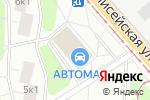 Схема проезда до компании Магазин автозапчастей на Уржумской в Москве