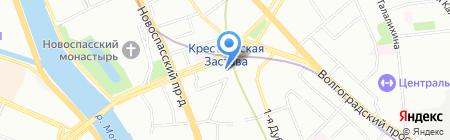Спецавтоматика на карте Москвы