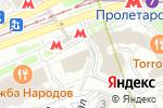 Схема проезда до компании Ником-сервис в Москве