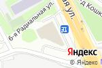 Схема проезда до компании Ёрш в Москве