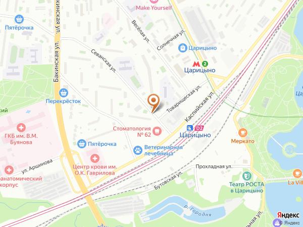 Остановка «Товарищеская ул.», Севанская улица (7660) (Москва)