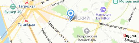FORTIS на карте Москвы