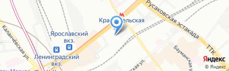 Амрита-Русь на карте Москвы