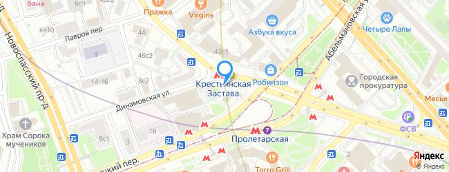 метро Крестьянская застава