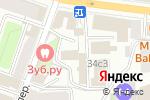 Схема проезда до компании Адвокатская контора №10 в Москве