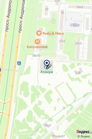 ЛУНА-ПАРК КАРУСЕЛЬ на карте Москвы