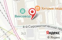 Схема проезда до компании Фотографер.Ру в Москве