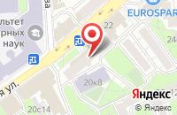 Схема проезда до компании Альфастрой в Москве