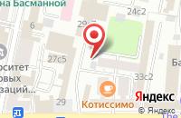 Схема проезда до компании Селебрис в Москве