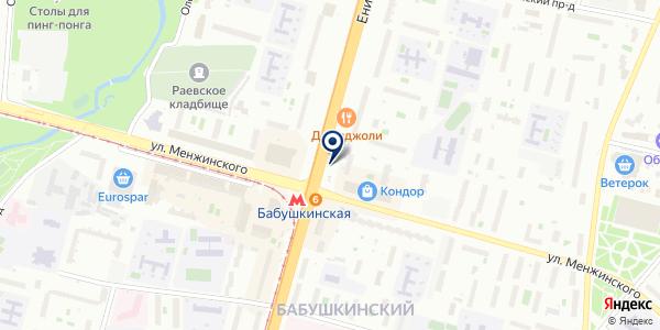 Магазин овощей и фруктов на карте Москве