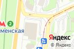 Схема проезда до компании Наш Пончик в Москве