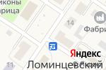 Схема проезда до компании Магазин продуктов в Ломинцевском