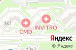 Схема проезда до компании Артинжстрой в Москве