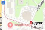 Схема проезда до компании ТРАНСГИДРОСТРОЙ в Москве