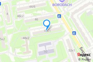Сдается комната в однокомнатной квартире в Москве м. Орехово, Бирюлёвская улица, 48к1