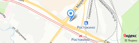 СР Транс-тур на карте Москвы