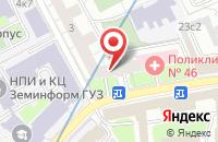 Схема проезда до компании Бизнескласс в Москве