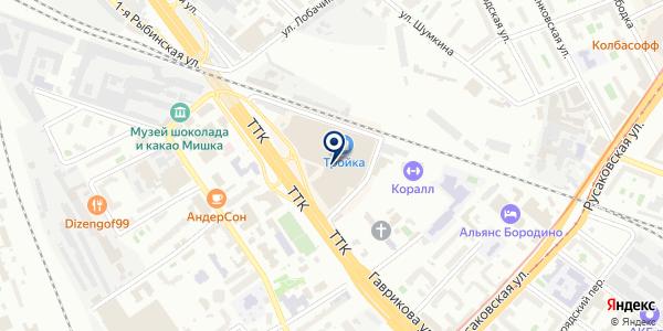 ХЛАДОКОМБИНАТ ФРОСТ на карте Москве