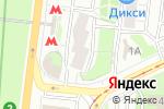 Схема проезда до компании Международник-4 в Москве